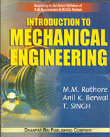 + Introduction to Mechanical Engineering + Dhanpatrai Books